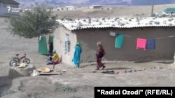 Як деҳаи ноҳияи Вахш. Акс аз соли 2018