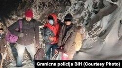 Akcija spašavanja migranata na Plješevici