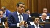 Экс-депутат Национального собрания Армении от РПА, экс-глава СПИСА Мигран Погосян (архив)