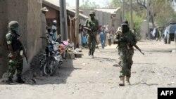 نیروهای نیجریه در مناطق درگیری با بوکوحرام