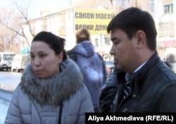 Предприниматели Елдерхан Шуратбаев и Арайлым Нурманбетова.