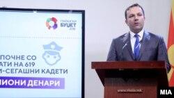 Прес-конференција на министерот за внатрешни работи Оливер Спасовски