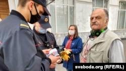 Марш пенсионеров в Беларуси