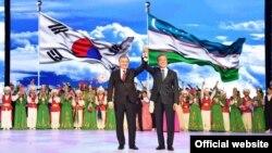 Президента Южной Кореи в Ташкенте встретили с большим торжеством.
