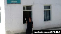 Железнодорожная станция Гаверс, Туркменистан (иллюстративное фото)