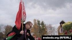 Мітынг у падтрымку Лукашэнкі ў Горадні. 31 кастрычніка 2020 году.