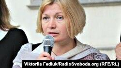 Голова комітету Верховної Ради з питань євроінтеграції Ірина Геращенко