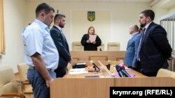 Вынесение решения по аресту прокурора Вадима Букрея