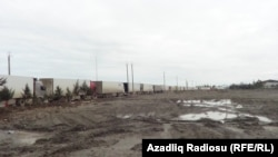 Astara yük terminalı. 13 mart 2018
