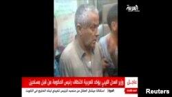 تصویری که شبکه تلویزیونی العربیه از علی زیدان منتشر کرد