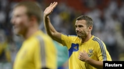 Andriy Shevchenko said he will join a pro-business party called Ukraine Forward!.