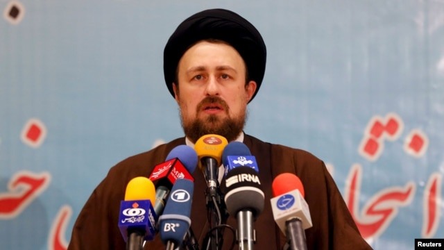 Hassan Khomeini, 43, is viewed as a relative moderate.
