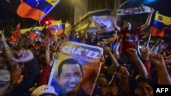 Чавестин жактоочулары шайлоо жыйынтыгы чыккандан кийин.