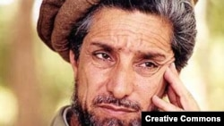 Tajikistan - Ahmadshah Massoud, commander of anti-Taliban forces of Afghanistan