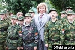 Татьяна Москалькова посетила кадетский корпус полиции, март 2016 года