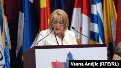 Претседателката на српскиот Парламент, Славица Ѓукиќ Дејановиќ