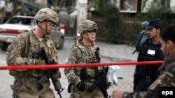 Американські військові в Кабулі (архівне фото)