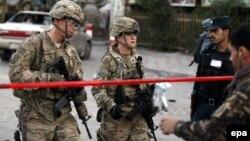 Pamje të ushtarëve amerikanë në Afganistan