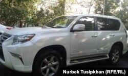 Автомобиль Дениса Тена, Алматы, 19 июля 2018 года.