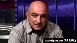 Armenia -- Boris Navasardian, chairman of the Yerevan Press Club, 29 July, 2014.
