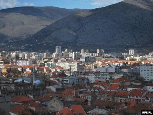 Mostar, mart 2009, foto: Midhat Poturović