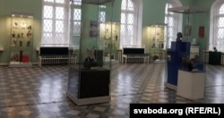 Заля ў віцебскім краязнаўчым музэі, дзе экспануецца калекцыя Мікалая Панкрата.