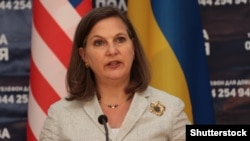 U.S. Assistant Secretary of State for European and Eurasian Affairs Victoria Nuland (file photo)