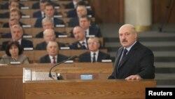 Белорускиот претседател Александар Лукашенко