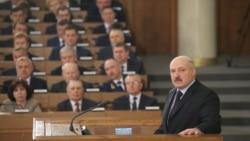 Штогадовае пасланьне Аляксандра Лукашэнкі