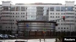 Здание Генерального штаба Вооруженных сил России, известного как ГРУ