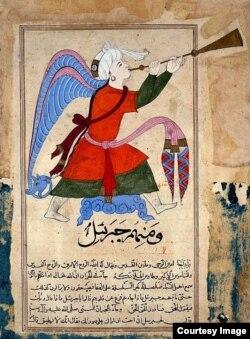 Архангел. Арабский манускрипт