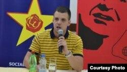 Стефан Богоев, претседател на СДММ и пратеник во Собранието на Македонија.