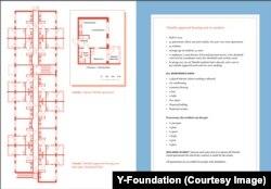 Квартирне планування в житловому комплексі для безпритульних в Еспоо
