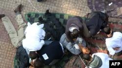Geçen anna güni başlanan bu protestlerde azyndan 35 adamyň heläk bolandygy aýdylýar.