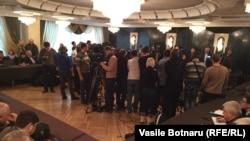 Reuniunea Forumului Civic, Chișinău, vineri 29 ianuarie 2016.