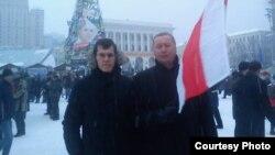 Сергій Висоцький (праворуч) зі своїм другом