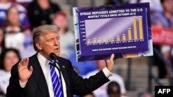Кандидат в президенты США от Республиканской партии Дональд Трамп. Форт-Лодердейл, 10 августа 2016 года.