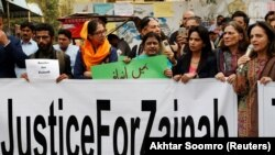 Kasur residents and people across the country protested to seek justice for Zainab Ansari.