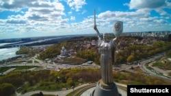 «Батьківщина-Мати» – монументальна скульптура в Києві, розташована на високому правому березі Дніпра на території Національного музею історії України у Другій світовій війні. Відкрита в 1981 році