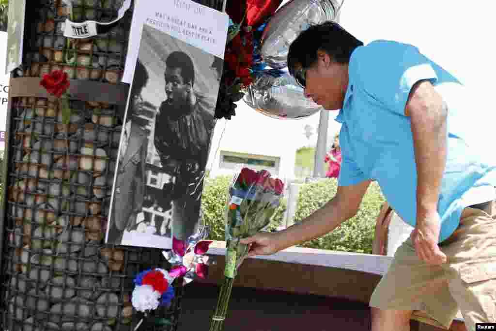 Мемориал в Фениксе, штат Аризона, США.