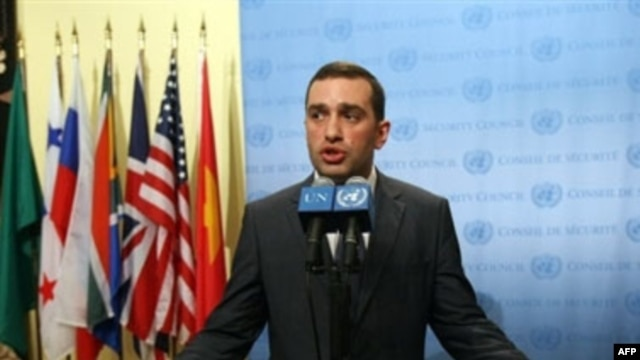 Alasania spent more than two years as Tbilisi's man at the UN.