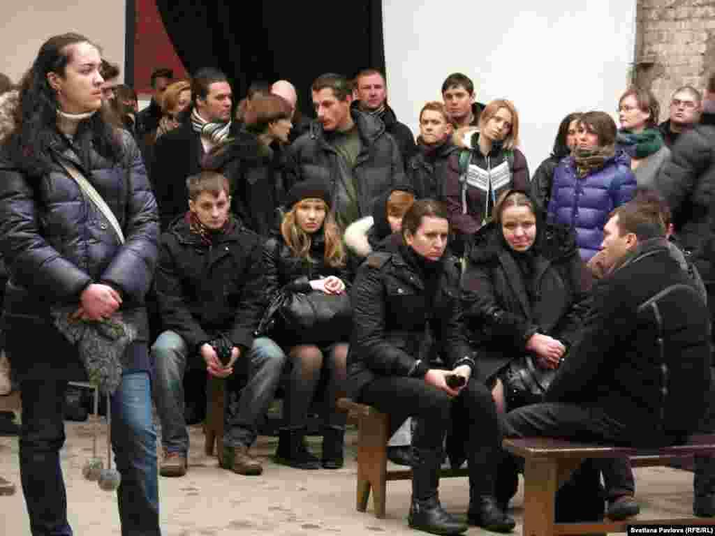 Прощание с Александром Долматовым прошло в центре им. А.Сахарова