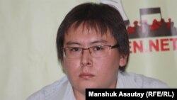 Жанболат Мамай, исполняющий обязанности главного редактора газеты «Саяси калам. Трибуна».
