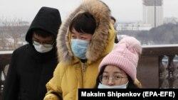 Китайские туристы, Россия. 24 января 2020