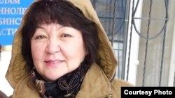 Алима Абдирова, правозащитник из Актобе.
