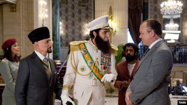 'The Dictator' has been banned in Tajikistan and Turkemenistan