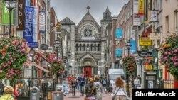 Dublində turistlər