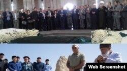 Шемара Асад Хьафизан а, Нохчийчуьра Кадыров Ахьмадан а кешнаш