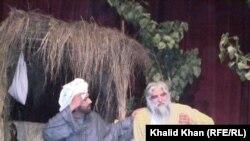 """د پښتنو د ستر صوفي شاعر عبدالرحمان بابا پر ژوند،کلام او پیغام جوړه شوې تییېټري ډرامه """" هغه ښکلي ښکلي خلک٬٬ یو تصویر.۱۷م جنوري ۲۰۱۲"""