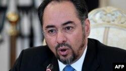 Министр иностранных дел Афганистана Салахуддин Раббани